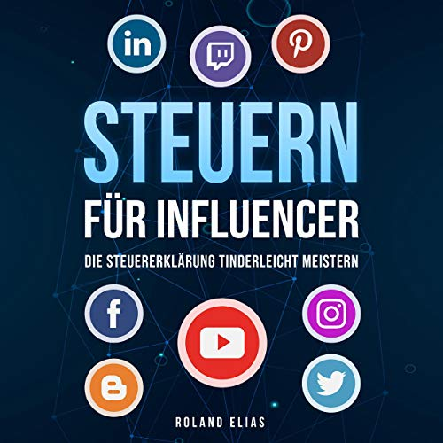 『Steuern für Influencer [Taxes for Influencers]』のカバーアート
