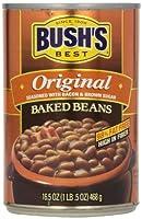 ブッシュの最高焼き豆オリジナル - 8/16.5 オンス缶します。 Bush's Best Baked Beans Original - 8/16.5oz cans