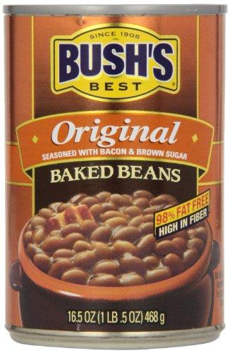 Bush's Best Original Baked Beans - 16.5 Ounce (4 Pack)