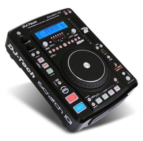 DJTECH ISCRATCH101 Single USB/Cd Player