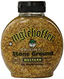 Inglehoffer Stone Ground Mustard, 10 Ounce Squeeze Bottle (Pack of 6)