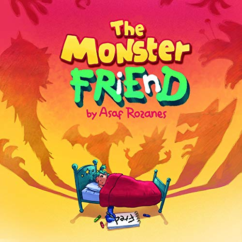 The Monster Friend audiobook cover art