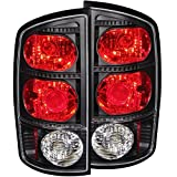 Anzo USA 211045 Dodge Ram Black Tail Light Assembly - (Sold in Pairs)