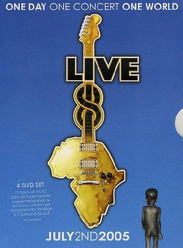 live aid 8 july 2nd 2005 (uk) 4dvd box set dvd Italian Import