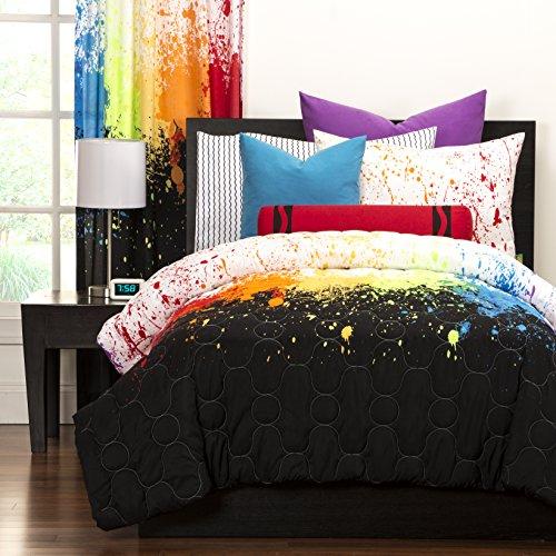 SIS Covers Crayola Cosmic Burst Comforter Set, Full/Queen