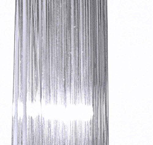 uGems Sterling Silver 29 Gauge Wire Soft Temper Round (Qty=30 Feet)