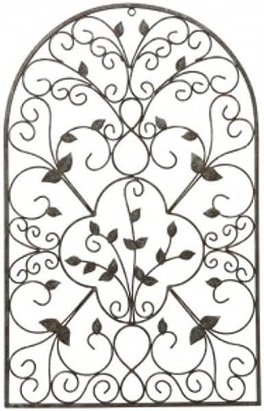 Gardman 8400 Spanish Arch Wall Art Antique Rust 30 23 Long X 19 11 Wide