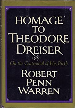 HOMAGE TO THEO DREISER 0394410270 Book Cover