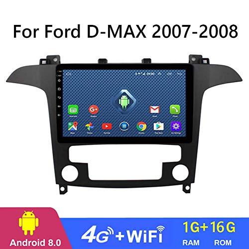 QWEAS Auto-DVD GPS Spieler für Ford D-max 2007-2008,9 Inch 2.5D Android 8.1 Autoradio-Stereo Head Unit Navigation, Spielervideomirrorlink