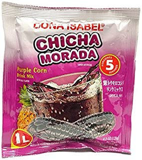 Dona Isabel Chicha Morada - Purple Corn - Beverage Mix - Peruvian Drink - 4.2 Oz.