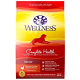 Wellness Natural Pet Food Complete Health Natural Dry Senior Dog Food,...