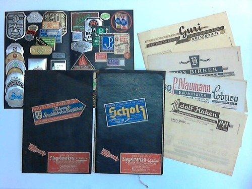 Spezialfabrik geprägter Etiketten und Siegelmarken, sowie geprägte Briefbogen