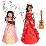 Disney Store Elena of Avalor Deluxe Singing Doll Set - 11'' (with 10'' Isabel) by Disney