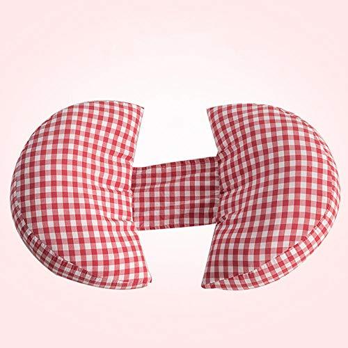 Almohada Lactancia Plaid Baumwolle Schwangere Frauen Bauch Unterstützung Kissen Haut-Freundliche Mutterschaft Pflege Kissen Side Schlaf Kissen Schwangerschaft Kissen-04
