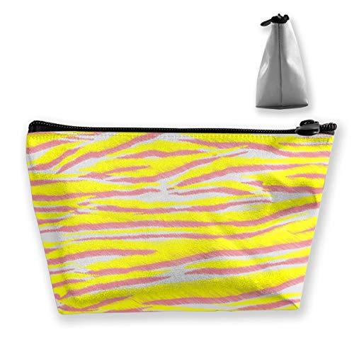 Multi-Functional Print Trapezoidal Storage Bag for Female Animal Skin