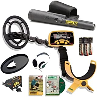 Garrett Ace 250 Metal Detector Discovery Pack with Pro Pointer, 6.5x9