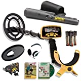 Garrett Ace 250 Metal Detector Discovery Pack with Pro Pointer, 6.5x9' Coil, Coil Cover, Headphones, Rain Cover