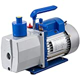Mophorn 8 CFM Clase 2 Refrigerante Aire Acondicionado de Refrigeración por Bomba de Vacío 1 HP HVAC Adecuada para Amplia Gama de Aplicaciones Como Aire Acondicionado Doméstico Envasado Al Vacío Etc