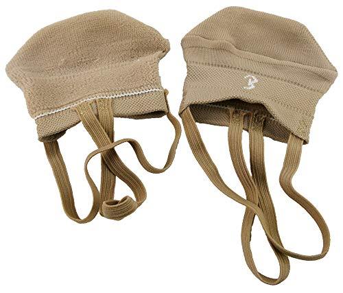 Bernit Zapatos de Gymnasia Ritmica | Zapatillas de Gimnasia rítmica Medias | Zapatos de Danza Ballet | Gimnasia Rítmica para Mujeres Niñas Pies Cómodo | color carne | tamaño 38 - 40