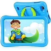 "VANKYO MatrixPad S8 8 inch Kids Tablet, Android 9.0, 2GB RAM, 32GB ROM, Kidoz Pre Installed, 8"" IPS HD Display, WiFi Tablet for Kids, Kid-Proof, Blue"