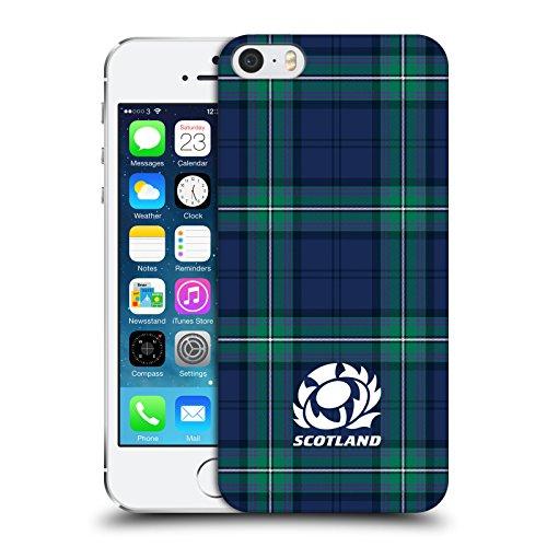 Head Case Designs Ufficiale Scotland Rugby Scozzese Logo 2 Cover Dura per Parte Posteriore Compatibile con Apple iPhone 5 / iPhone 5s / iPhone SE 2016