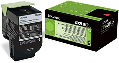 Lexmark 80c2sy0 Original Toner 1er Pack Bürobedarf Schreibwaren