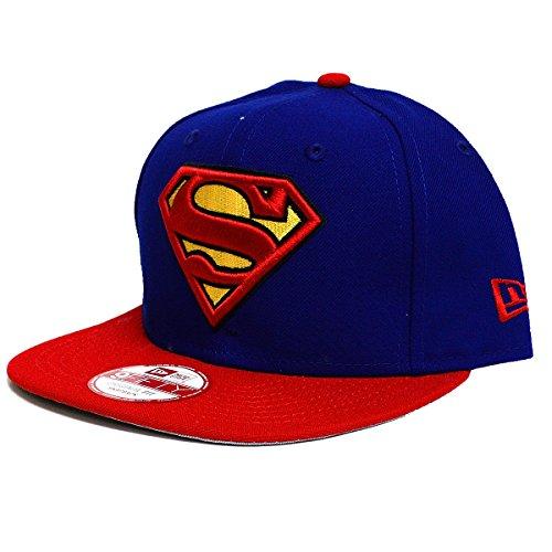 New Era DC Heroes Superman Quarter Sub 9Fifty Snap Back Cap