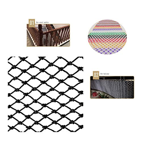 Cargo Cover Net Netting Hochleistungs-Teich Kindersicherheit Pool Protector Horse Feeder 100x100mm Mesh 4mm String (Size : 1 * 7m)
