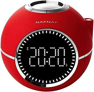 NafNaf Naf Naf CLOCKINERD - Alarm clock with digital radio FM PLL, projector and with sounds of nature