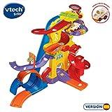 VTech- Superpista Looping 360º TutTut Bólidos Pista Interactiva, Incluye El Coche de Bruno Fórmula 1, Multicolor, 63.2 x 40.6 x 21.1 (3480-156922)