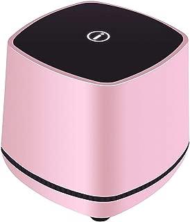 MINGTAI Desktop Computer Small Stereo Desktop Notebook Mobile Phone Usb Cable Home Mini Speaker Small Speaker Subwoofer (Color : Pink)