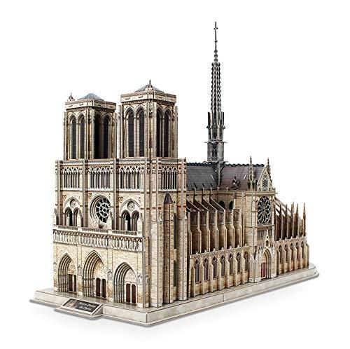 Hammer Puzzle 3D for Adultos Notre Dame de París Niños