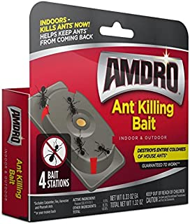 Amdro 100531827 Ant Killing Bait Stations, White
