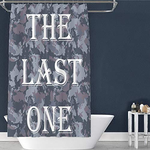 QAQ Starry Sky Chun Ya Douchegordijn van fluweel voor de badkamer, grote douchecabine, badkamerdecoratie