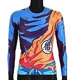 CoolChange Camiseta de Manga Larga de La Bola del dragón Super-...