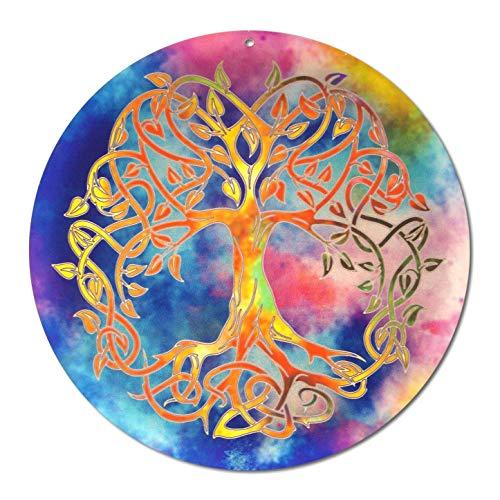 """Sonnenfänger\"""" Baum des Lebens\""""Nr 16 ø 40cm · Seminarraum Deko Lebensbaum · Symbol der Liebe · Lichtfänger Fensterbild · esoterisch spirituelle Geschenk Idee · Feng Shui Energiebild Acryl-Glasbild"""