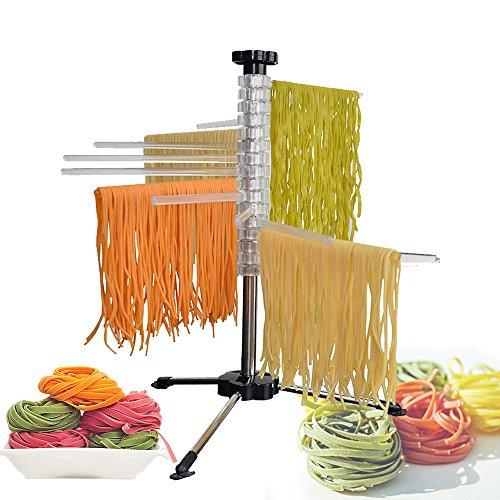 Maxbourne Nudelständer zum Trocknen von hausgemachten Nudeln / Pasta, Nudeltrockner, Spaghetti-Trockner, Halterung zum Aufhängen von Nudeln
