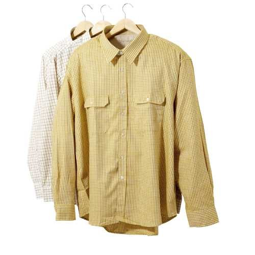 Sherwood Forest Field Tattersall Chemise pour Homme XL Carreaux de maïs.