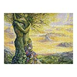 1000 Piece Wooden Jigsaw Puzzle Love of Nature Jigsaw Puzzles Fun Game Toys Birthday Gifts (Without...