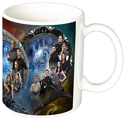 MasTazas Stargate Sg-1 Stargate Atlantis Stargate Universe Tasse Mug