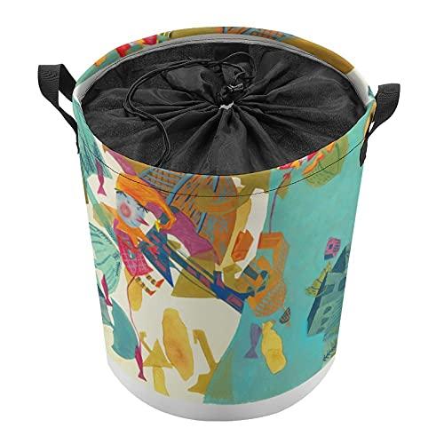 Cestas de ropa de alta calidad con asas, cestas de almacenamiento para ropa, cestas de almacenamiento en viga Pretty
