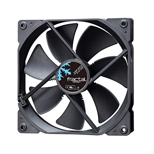 Fractal Design Dynamic X2 GP-14 Black, Lüfter für (High End) Gaming PC Gehäuse, schwarz