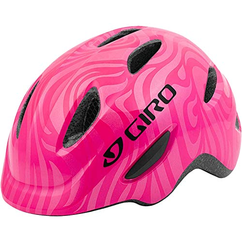Giro Unisex Jugend Scamp Fahrradhelm Youth, Bright pink/Pearl, S | 49-53cm