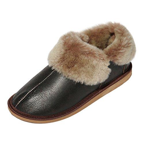 Herren Lammfell Hausschuhe Jungle Schuhgröße EUR 42