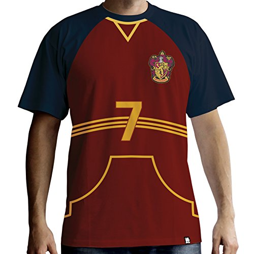 HARRY POTTER - T-Shirt PREMIUM - Quidditch Jersey (XL) : TShirt , ML