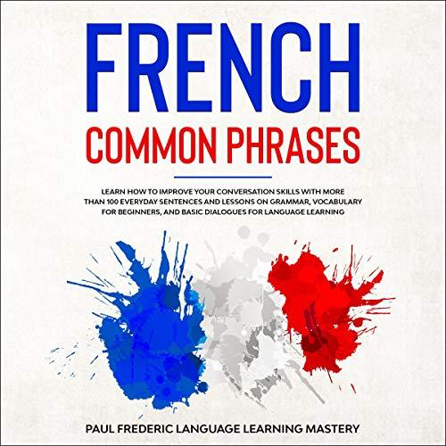 Page de couverture de French Common Phrases