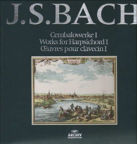 Cembalowerke I, Works for Harpsichord I / Oevres pour clavecin I [12x Vinyl LP]