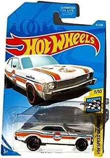 Hot Wheels HW Speed Graphics 7/10 '68 Nova White Gulf