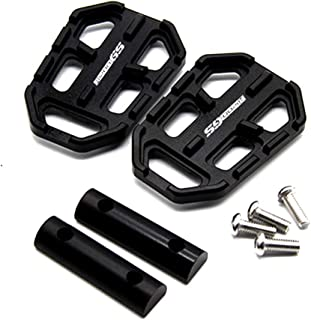 1Pair Motorcycle Footrest, Widen Foot Rest, Peg Pedal, Motorcycle Accessories for BMW R1200GS G310, Non-Slip
