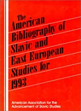 The American Bibliography of Slavic and East European Studies: 1993
